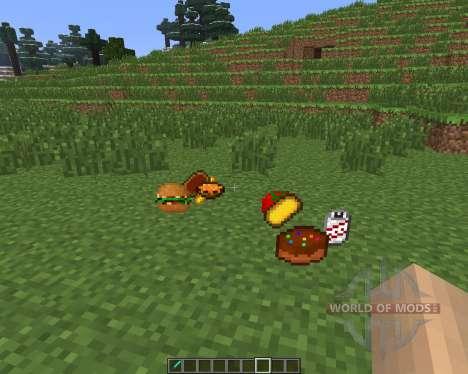 Food Plus [1.6.4] para Minecraft