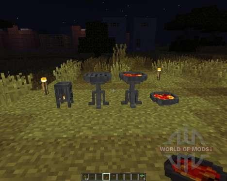 Brazier para Minecraft