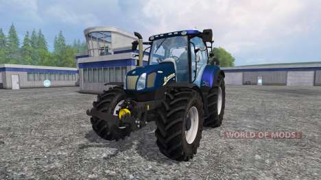 New Holland T6.160 v1.2 para Farming Simulator 2015