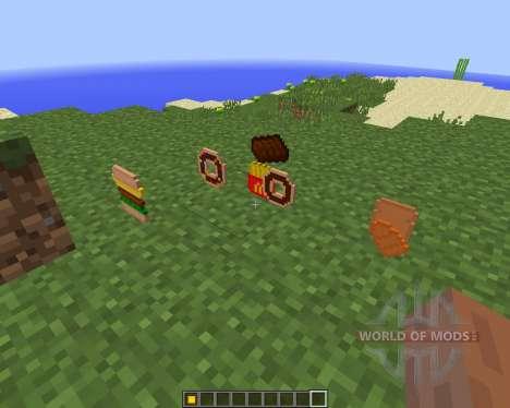 Extra Food [1.8] para Minecraft