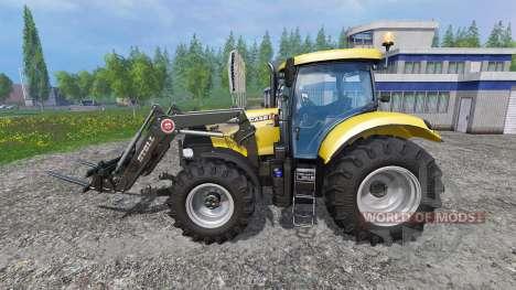 Case IH Puma CVX 160 Frontloader v2.0 para Farming Simulator 2015