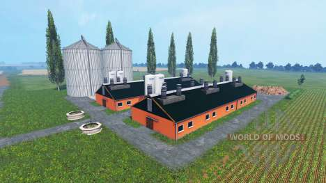 Benz North West Mecklenburg v0.9 Beta para Farming Simulator 2015