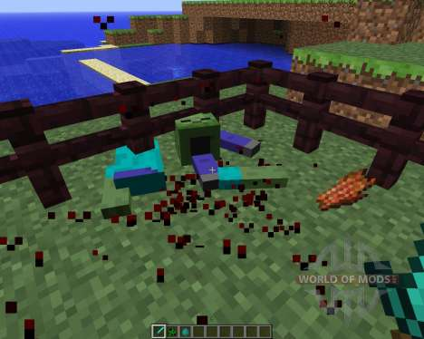 Mob Dismemberment [1.5.2] para Minecraft