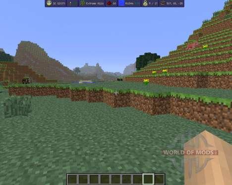 MoreInfo para Minecraft