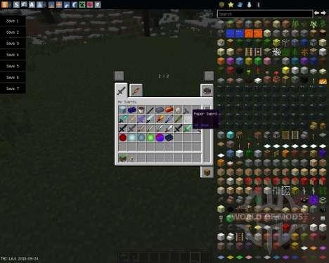 MoSwords [1.6.4] para Minecraft
