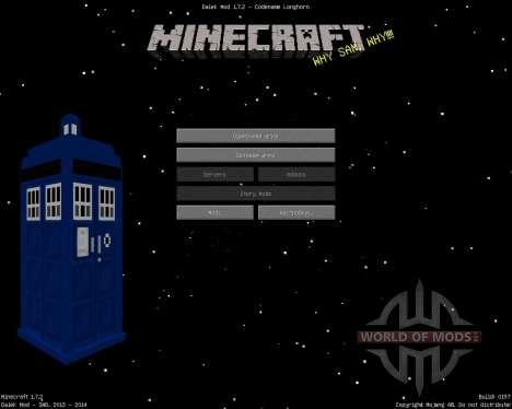 Dalek [1.7.2] para Minecraft