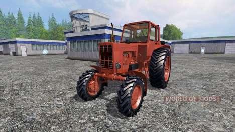 MTZ-80 lavable para Farming Simulator 2015
