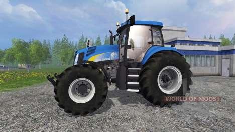 New Holland T8.020 v3.0 para Farming Simulator 2015