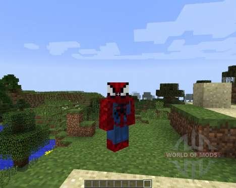 Spider Man [1.7.2] para Minecraft