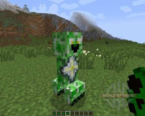 Creeper Species [1.7.2] para Minecraft