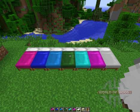 Dyeable Beds [1.7.2] para Minecraft