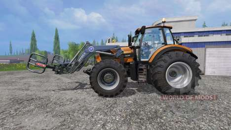 Deutz-Fahr Agrotron 7250 Forest King v2.0 orange para Farming Simulator 2015