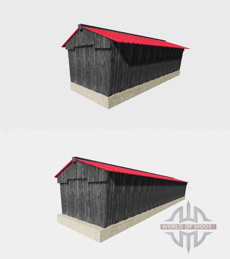 Drive Through Hall v2.1 para Farming Simulator 2015