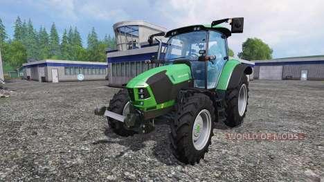 Deutz-Fahr 5110 TTV v1.2.1 para Farming Simulator 2015