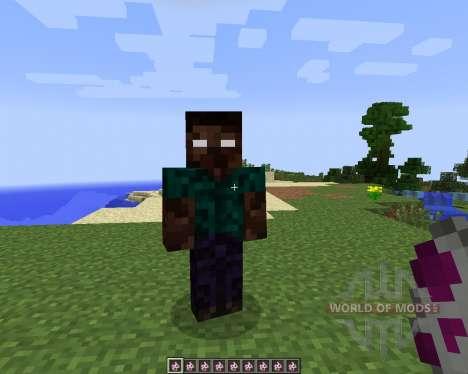 More Herobrines [1.7.2] para Minecraft