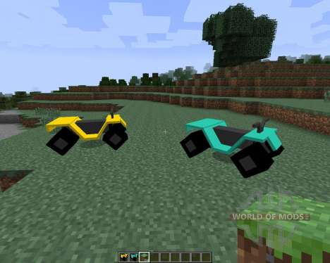 All-terrain Vehicle (ATV) [1.7.2] para Minecraft