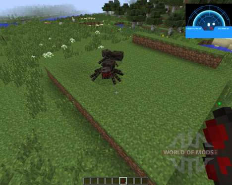 Aliens Motion Tracker [1.7.2] para Minecraft