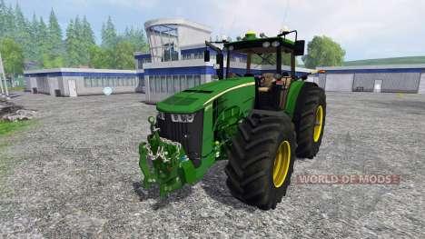 John Deere 8370R Full para Farming Simulator 2015