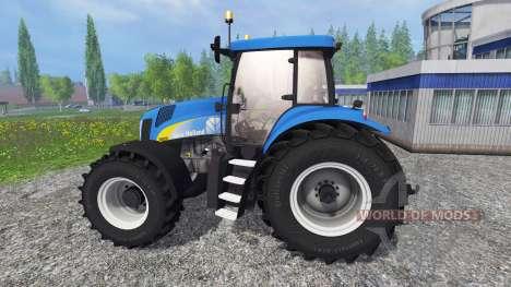 New Holland T8.020 v4.0 para Farming Simulator 2015