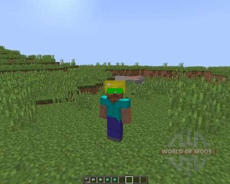 Night Vision Mining Hats [1.8] para Minecraft