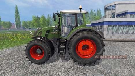Fendt 828 Vario Ploughing Spec para Farming Simulator 2015