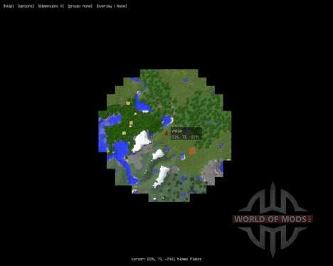 MapWriter [1.8] para Minecraft