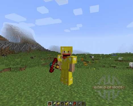 CST7 Weapons [1.7.2] para Minecraft