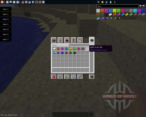 Dyeable Beds [1.6.4] para Minecraft