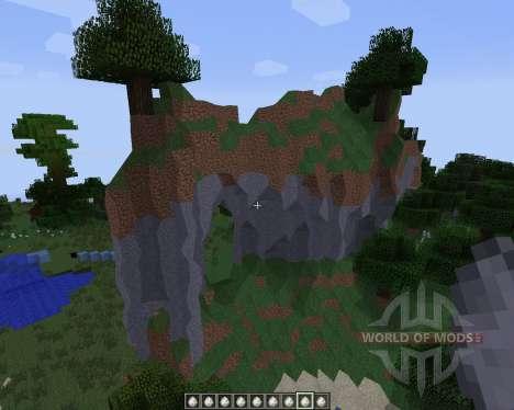 No Cubes [1.7.2] para Minecraft