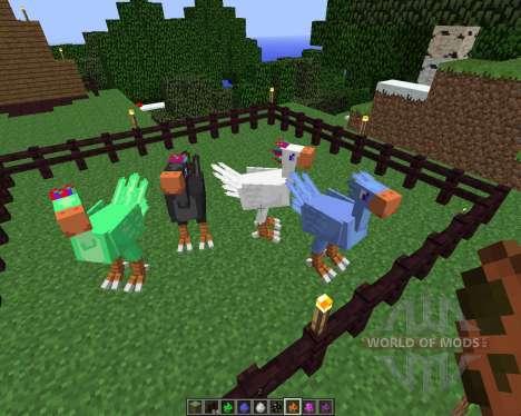 ChocoCraft [1.5.2] para Minecraft