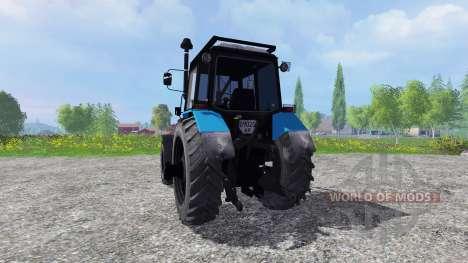 MTZ-W bosque para Farming Simulator 2015