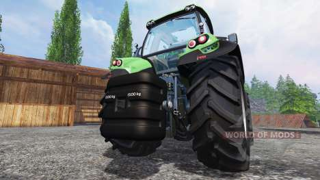 Deutz-Fahr 1500 v2.0 washable para Farming Simulator 2015
