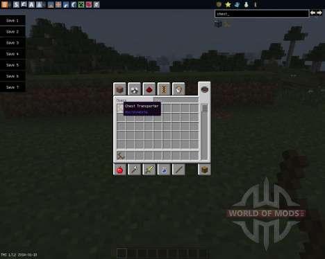 Chest Transporter [1.7.2] para Minecraft