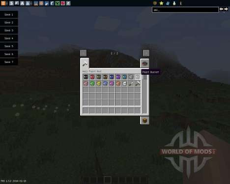 Wall Painter [1.7.2] para Minecraft