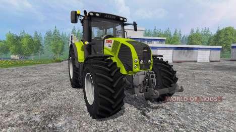 CLAAS Axion 850 v3.0 para Farming Simulator 2015