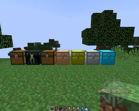 Iron Chests [1.8] para Minecraft