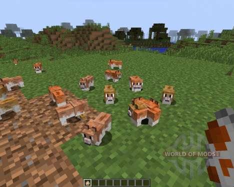 Invincible Hamster [1.7.2] para Minecraft