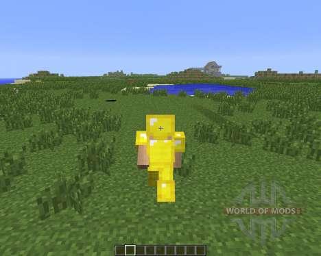 Toggle Sneak-Sprint Mod [1.6.4] para Minecraft