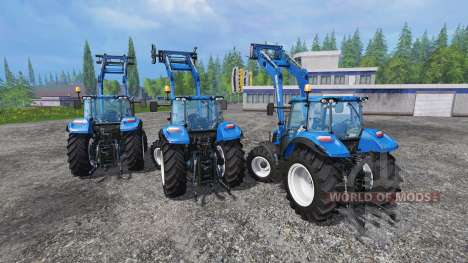 New Holland T5 [pack] para Farming Simulator 2015