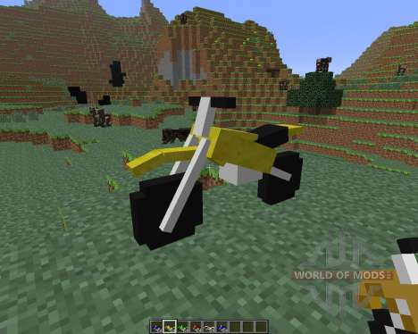 The Dirtbike [1.6.4] para Minecraft
