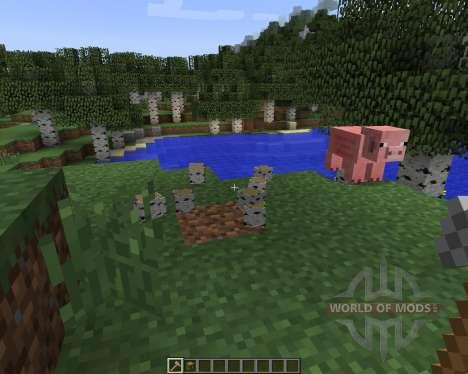 Whole Tree Axe [1.7.2] para Minecraft