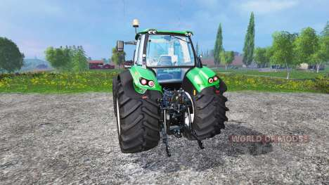 Deutz-Fahr Agrotron 7250 single wheels v1.3 para Farming Simulator 2015