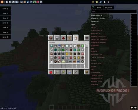 TooManyItems [1.7.2] para Minecraft