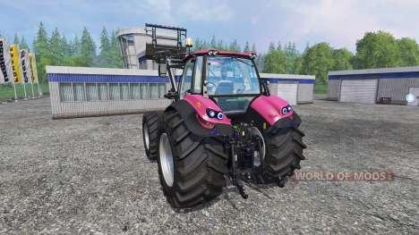 Deutz-Fahr Agrotron 7250 Forest Queen v2.0 pink para Farming Simulator 2015