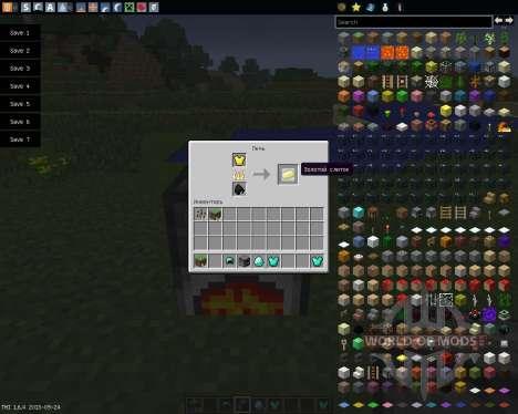 Armor Smelter [1.6.4] para Minecraft