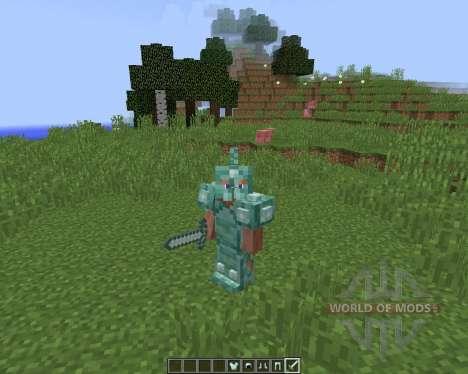 Quartz and Prismarine ArmorTools para Minecraft