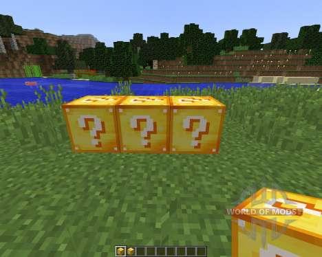 Lucky Block [1.8] para Minecraft
