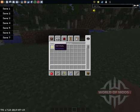 Glowstone Wire para Minecraft