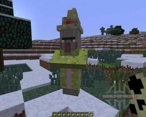 Kwasti Bust Monsters [1.6.4] para Minecraft