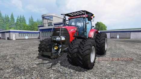 Case IH Puma CVX 230 v4.0 TwinWheels Forest para Farming Simulator 2015